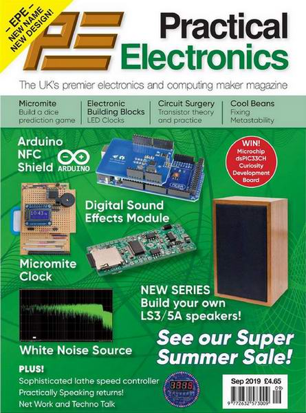 Everyday Practical Electronics №9 September сентябрь 2019