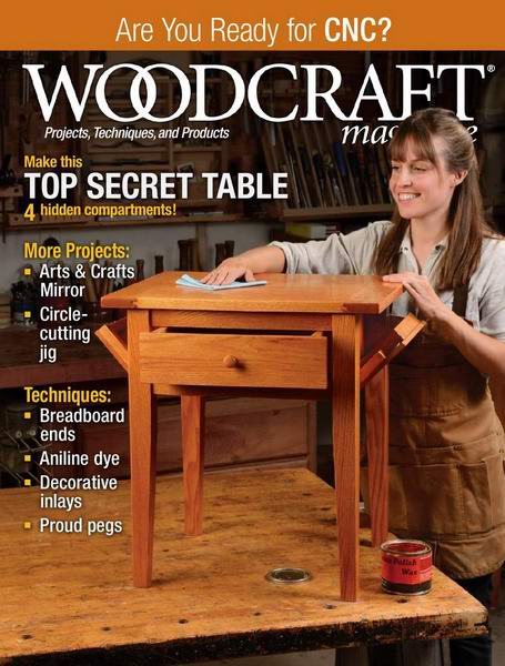 Woodcraft Magazine №91 October-November 2019 USA