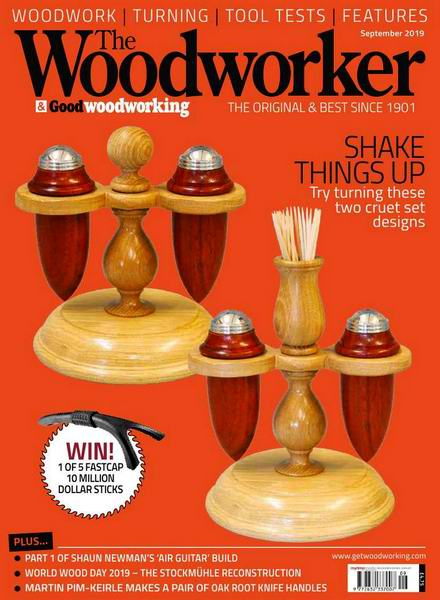 The Woodworker & Good Woodworking №9 September сентябрь 2019