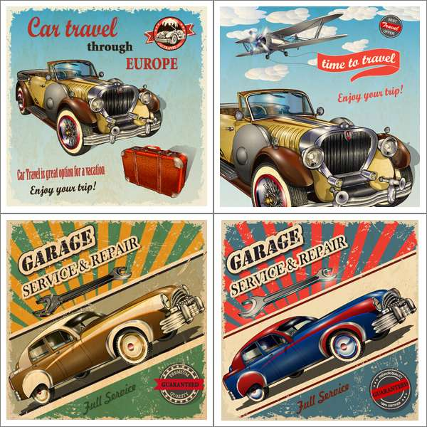 Various Retro Cars (Cwer.ws)