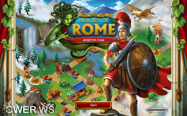 скриншот игры Heroes of Rome: Dangerous Roads