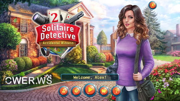 скриншот игры Solitaire Detective 2: Accidental Witness