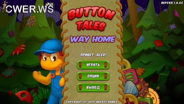 скриншот игры Button Tales 2: Way Home