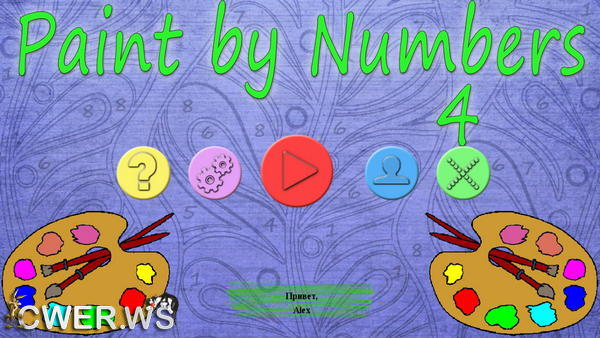 скриншот игры Paint by Numbers 4