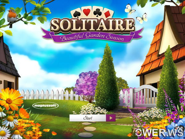 скриншот игры Solitaire: Beautiful Garden Season