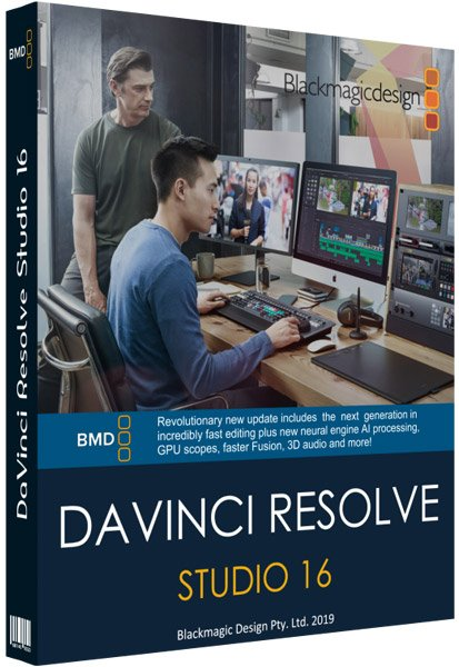 Blackmagic Design DaVinci Resolve Studio 16
